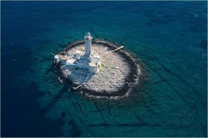 Farol da ilha de Porer (Croácia)