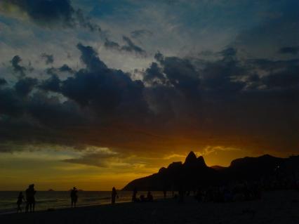 Entardecer em Ipanema, Rio de Janeiro