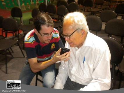 Adriano Nunes e Lêdo Ivo