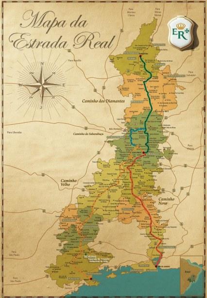 Mapa_Estrada Real