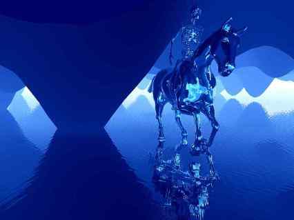 Cavalo Azul