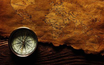 Mapa & bússola