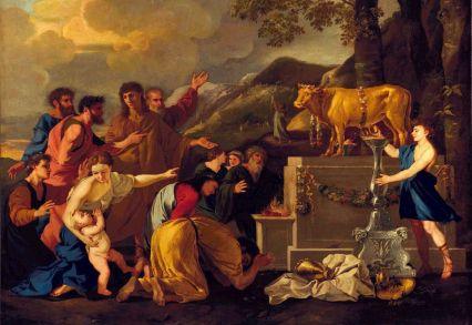 Adoração ao Bezerro de Ouro_Andrea di Lione (1596–1675)