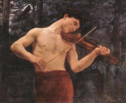 Orpheus (1894)_Károly Ferenczy (Húngaro)