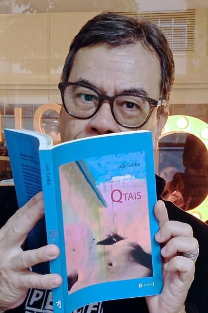 Luis Turiba com Qtais