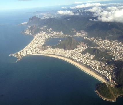 Rio de Janeiro_Vista do avião