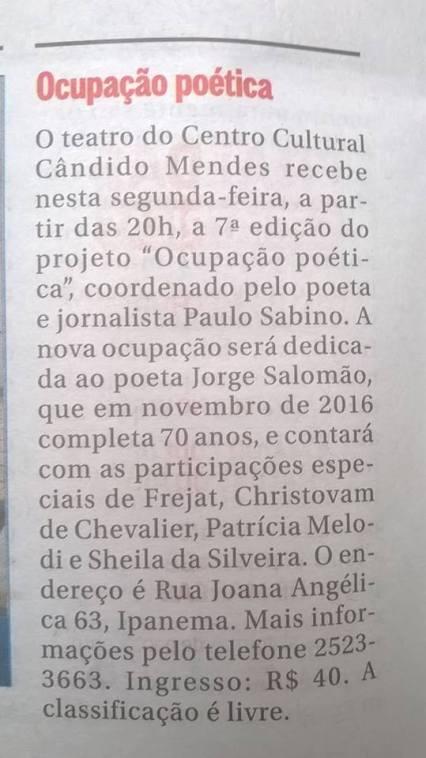 ocupacao-poetica_jorge-salomao_caderno-zona-sul_o-globo